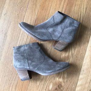 Crown vintage suede boots!